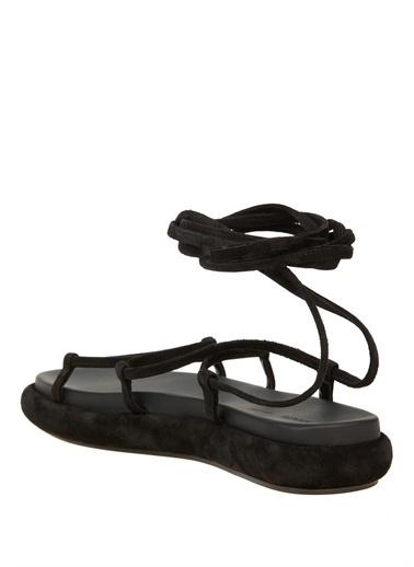 Khaite Spor Sandalet Siyah